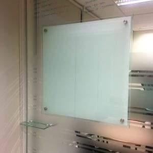 pizarra de vidrio a mapara